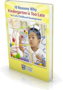Child Care of Southwest Florida-10 Reasons Why Kindergarten Is Too Late