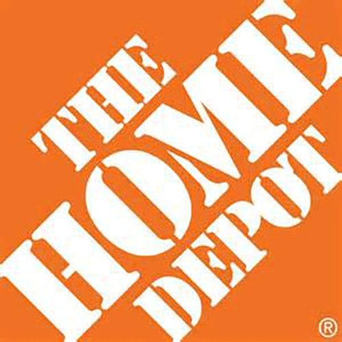The Home Depot logo in orange