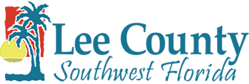 Teal Lee Coutny Southwest Florida government logo on transparent background