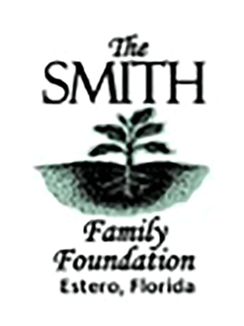 The Smith Family Foundation logo and the words Estero, Florida