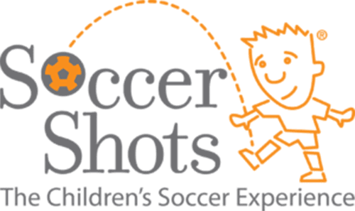 Soccer Shots logo, with words that read The Children's Soccer Experience