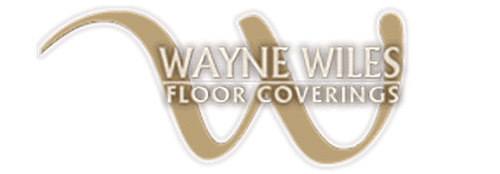 Wayne Wiles Floor Coverings logo in gold
