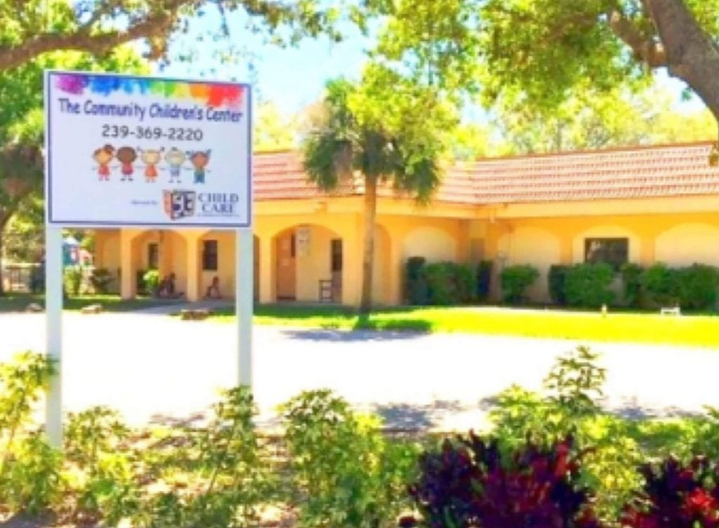 One of Child Care of Southwest Florida's five affordable early childhood education centers, The Community Children's Center is located at 1260 Wings Way in Lehigh Acres at 33936.